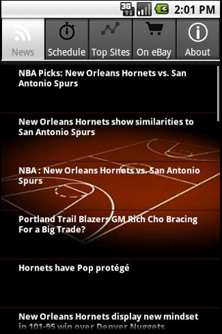 New Orleans Hornets Fans Android Sports