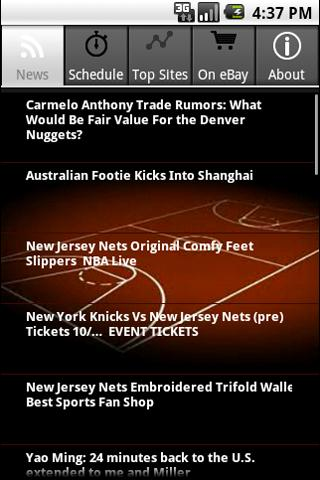 New Jersey Nets Fans Android Sports