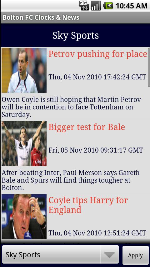 Bolton FC Clocks & News Android Sports