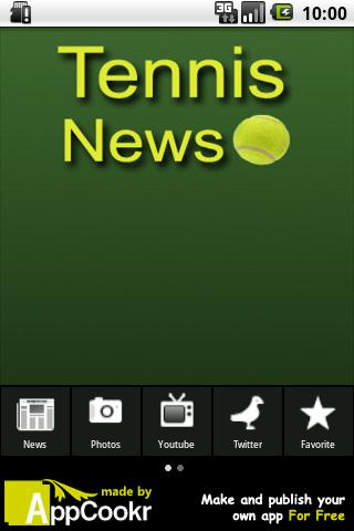 Tennis News Android Sports