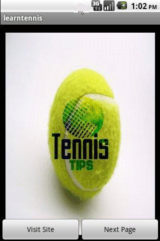 Tennis Tips Android Sports