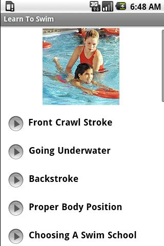 Learn To Swim Android Sports