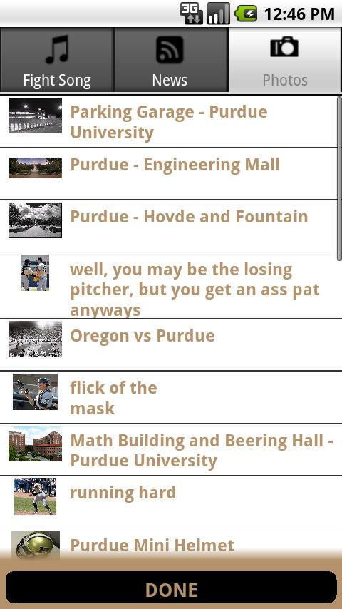 Go Boilermakers Android Sports