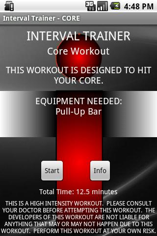 Interval Trainer – Core Android Sports