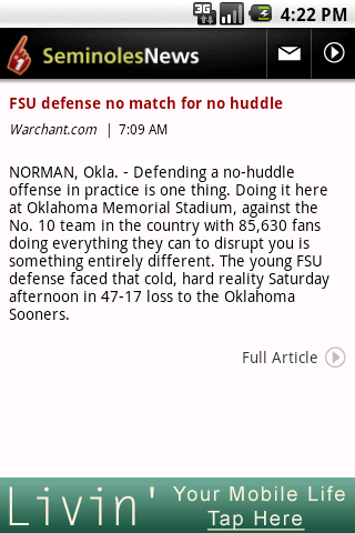 Seminoles News Android Sports