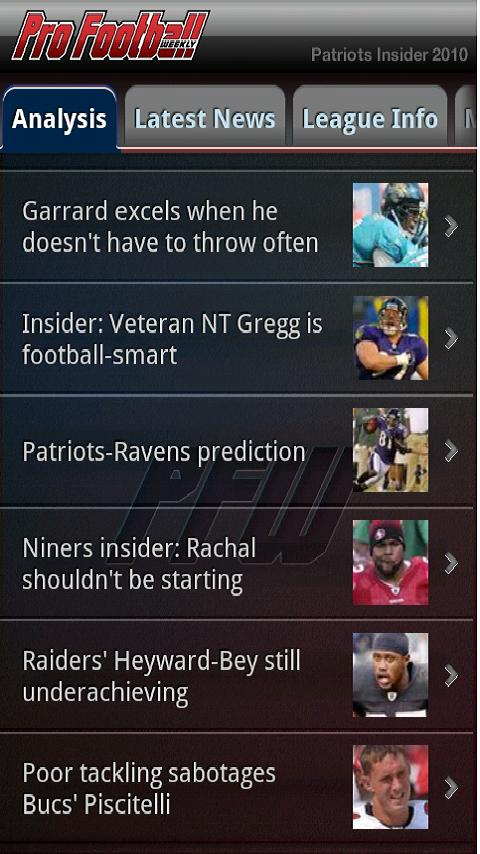 Patriots Football – NFL News Android Sports