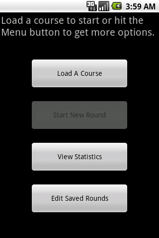 MyGolfHandicap Android Sports