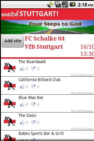 Watch Stuttgart ! Android Sports