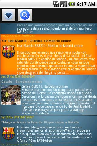 Barcelona FC Top Noticias Android Sports