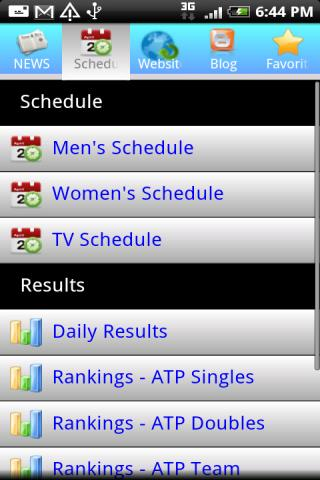 Tennis NEWS & Info Android Sports
