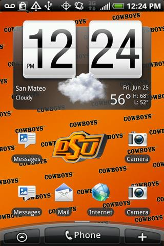 Oklahoma State Live Wallpaper Android Sports