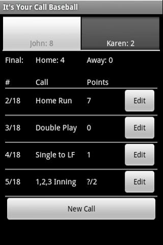 Your Call Baseball Android Sports