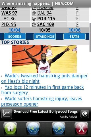 NBA.COM  Where amazing happens Android Sports