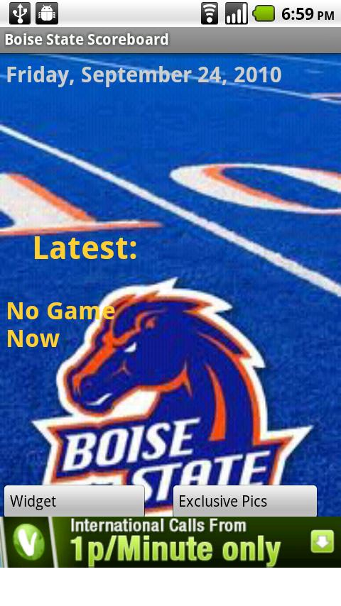 Boise State Scoreboard Android Sports
