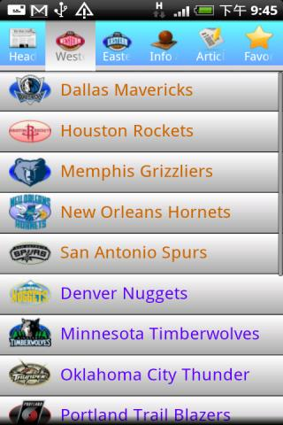 NBA NEWS Center Android Sports