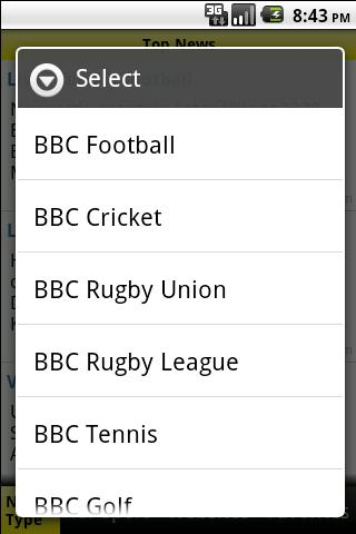 BBC Sports News Android Sports