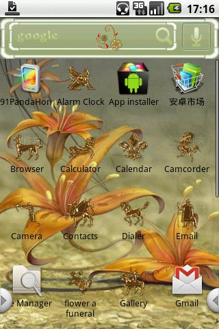 flower a funeral Android Themes