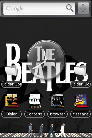 The Beatles Android Themes