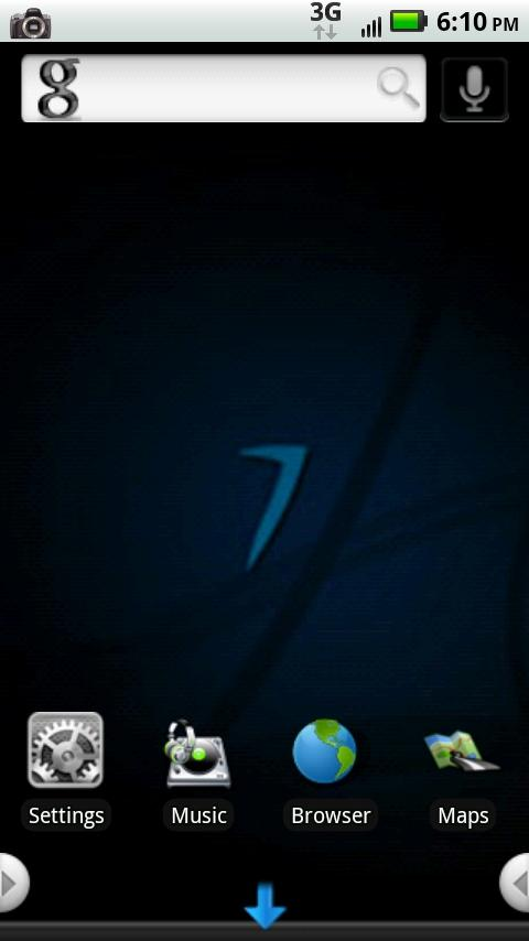 Windows 7 HD theme Android Themes