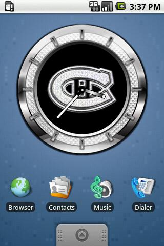 CLOCK CANADIENS Android Themes