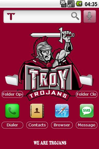 Troy University w/iPhone icons Android Themes
