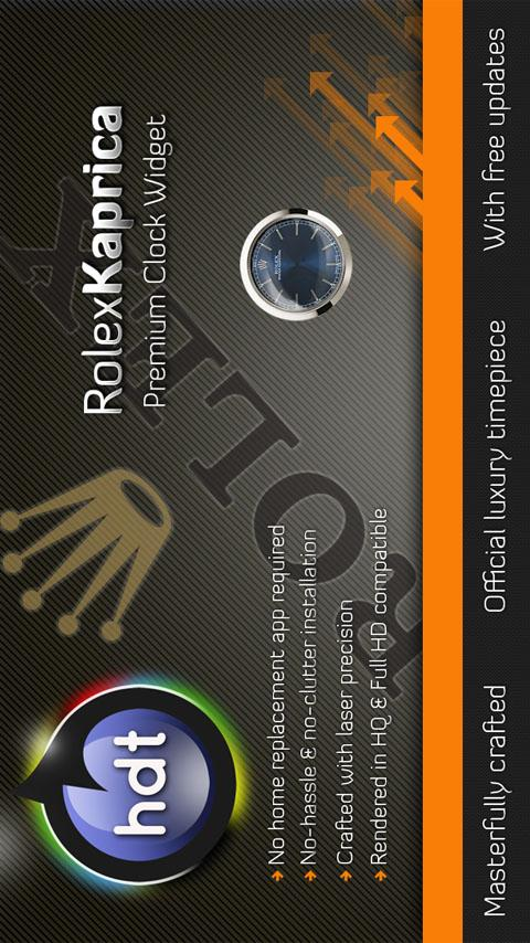 Rolex | Kaprica Android Themes