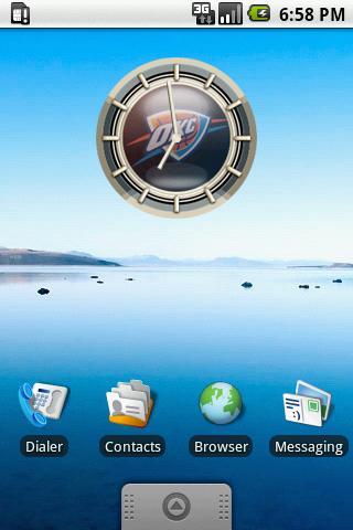 OKLAHOMA CITY Alarm Clock Android Themes