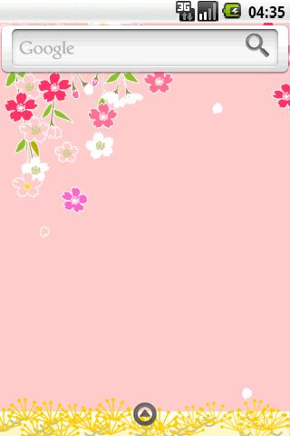 Saora theme:WeepingCherryPin Android Themes