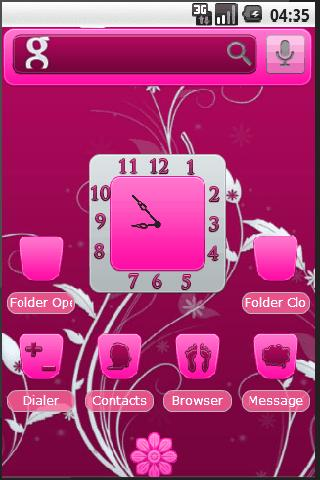WinePink Theme Android Personalization