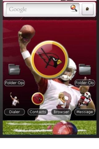 Arizona Cardinals 2010 Theme Android Themes