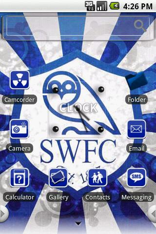 Theme:Sheffield Wednesday Android Themes