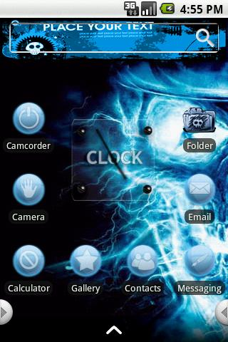 Theme:Captain Skull Android Themes