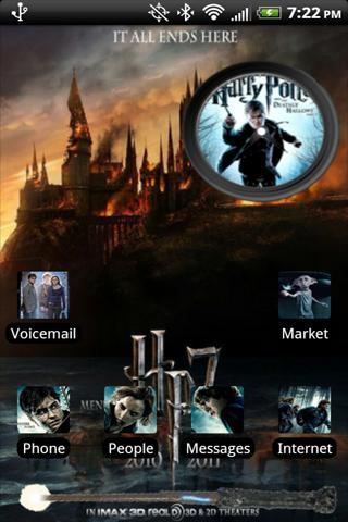 Deathly Hallows II Theme Android Themes