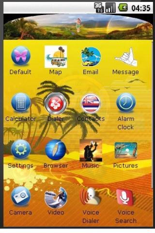 Kauai Hawaii Sunset Theme Android Themes