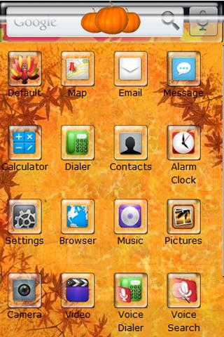 Thanksgiving Theme Android Themes