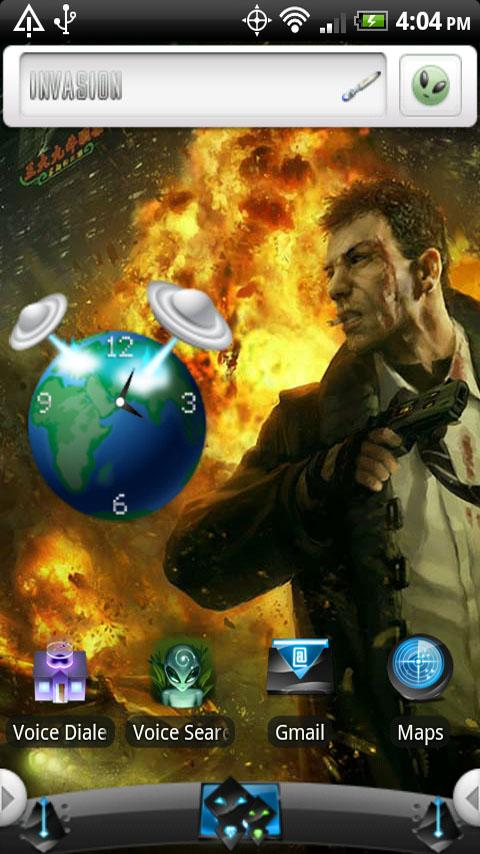 INVASION Android Themes