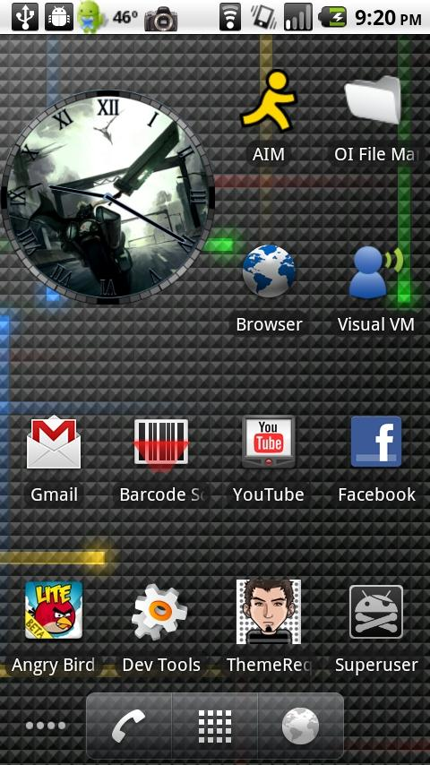 Final Fantasy AC Clock Android Themes