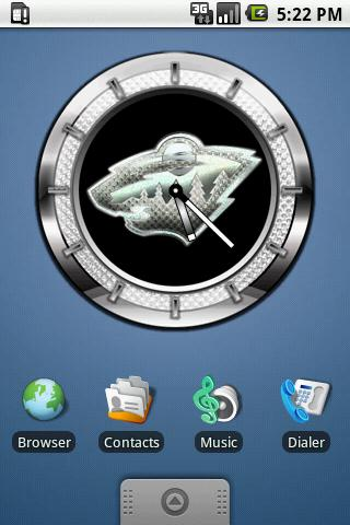 CLOCK WILD Android Themes