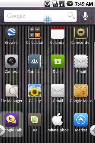 ImitateIphoneTheme Android Themes