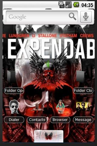 Expendables Theme Android Themes