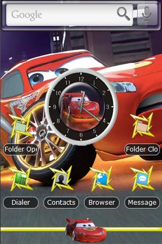 Dragon Lightning McQueen Android Themes