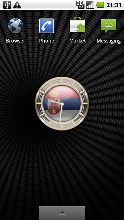 SERBIA G10 Alarm Clock Android Themes