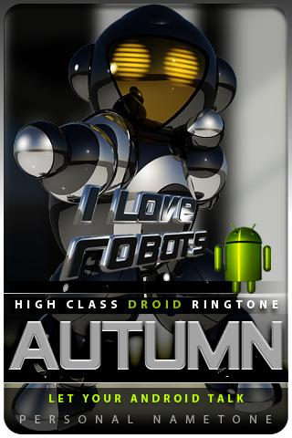 AUTUMN nametone droid Android Themes