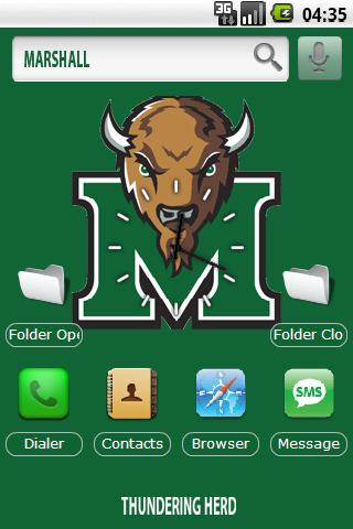 Marshall U. w/ iPhone icons Android Themes
