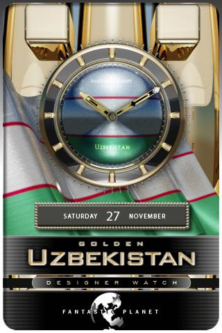 UZBEKISTAN GOLD Android Themes