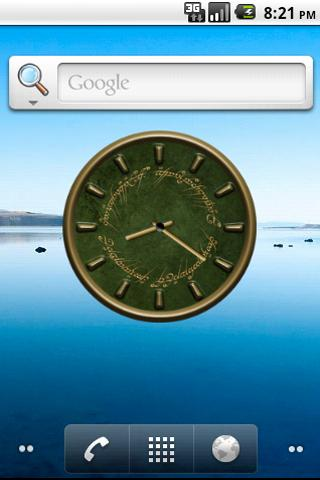Lord of The Rings Clock Widget Android Themes