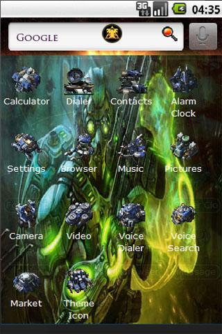 Starcraft  2 Terran Android Personalization