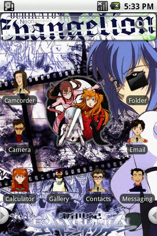 Theme:Evangelion Android Themes