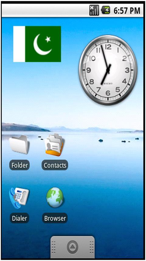 Pakistan Flag Sticker Widget Android Themes