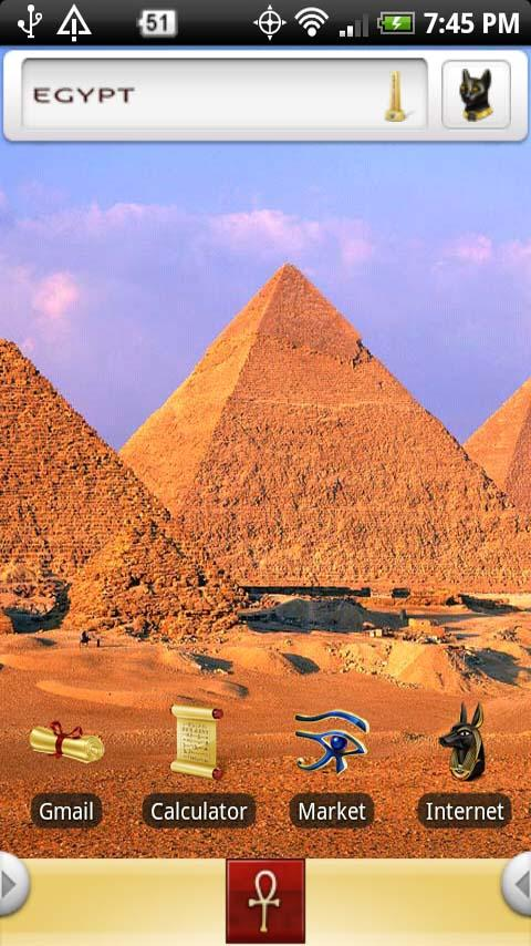 Journey To Ancient Egypt Android Themes